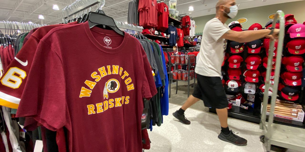 Dick's, Walmart And Target Pull Redskins Merchandise From Websites