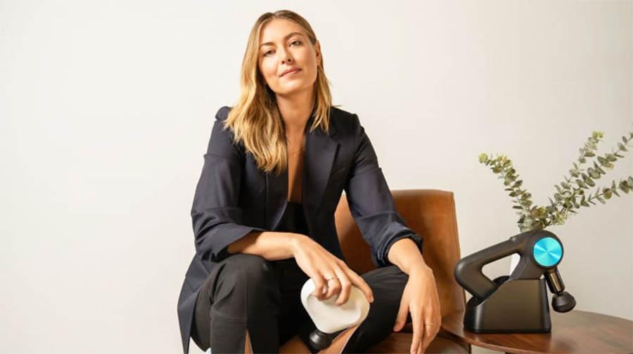 Maria Sharapova Invests In Therabody