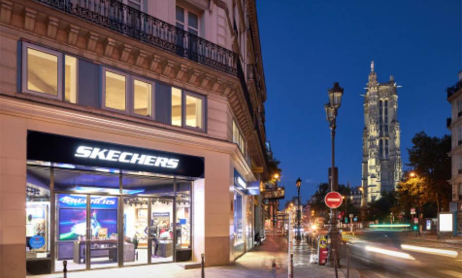 Skechers Opens Flagship On Rue de Rivoli In Paris