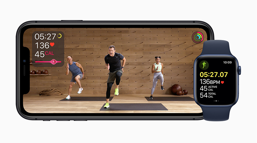 Apple Launches New Fitness Service