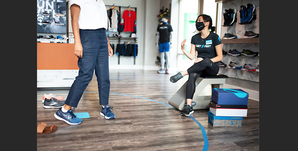 Fleet Feet Launches Fit Id. Personalized Footwear Experience