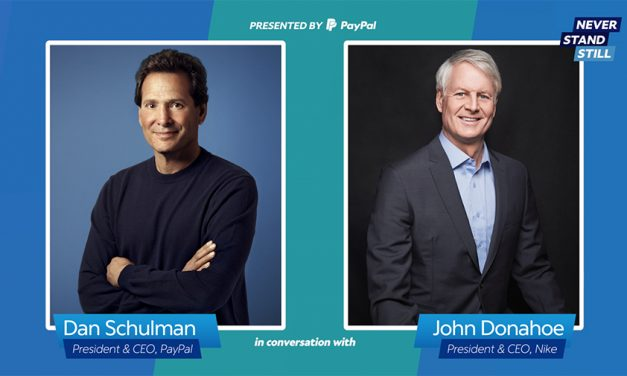 Never Stand Still: Nike's CEO Discusses Leadership With PayPal's CEO Dan Schulman
