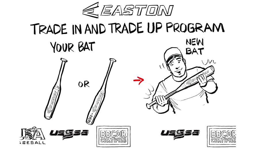 Easton Introduces Bat Trade-In Program