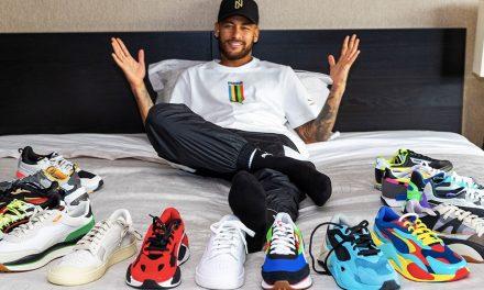 Puma Signs Neymar