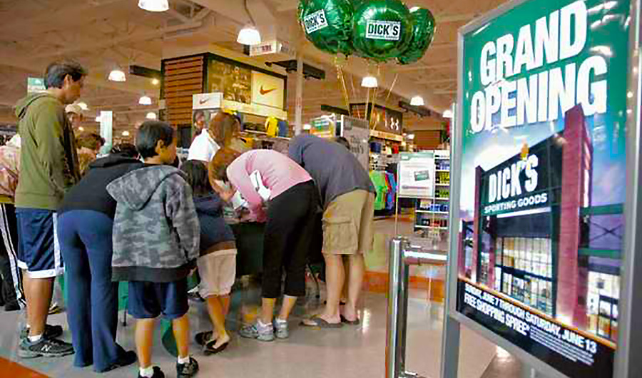 Dick's SG Announces Grand Opening Of 11 Stores, New Soccer Shops