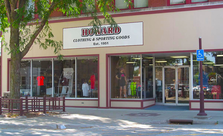Howard Clothing and Sporting Goods To Close