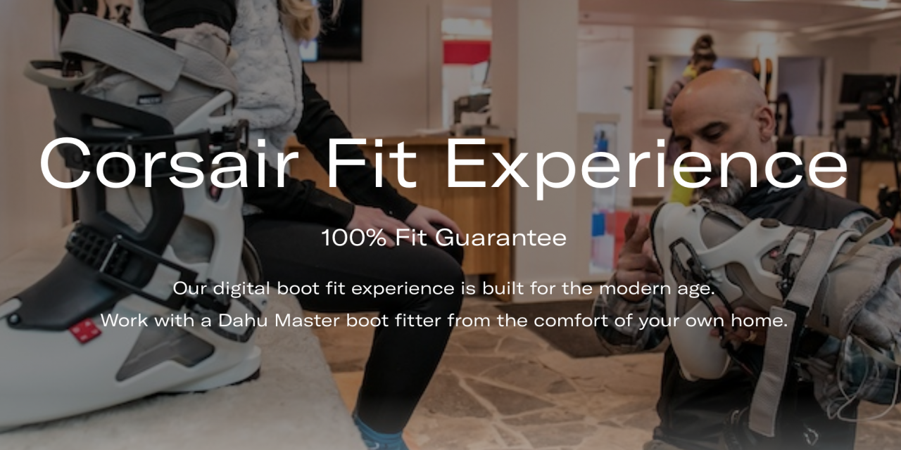 Dahu Launches Complimentary Online Boot Fitting Service