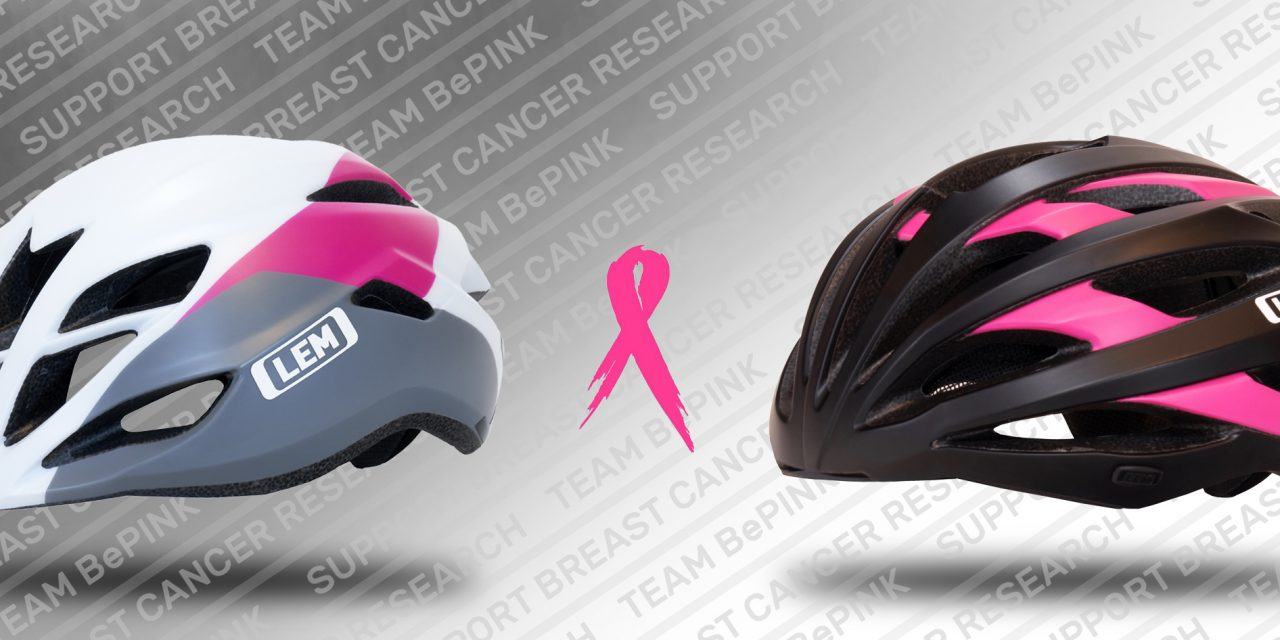 LEM Helmets Supports Breast Cancer Research; Launches Ltd Edition Cycling Helmets