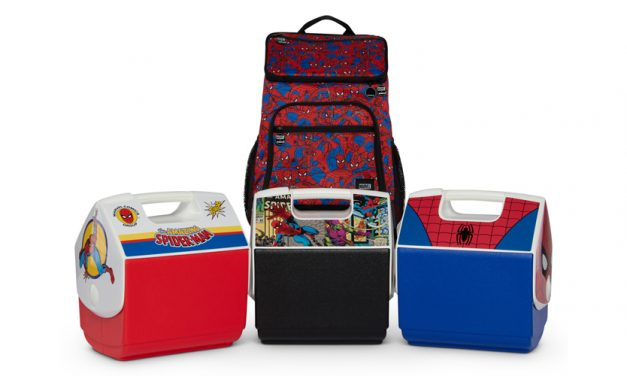 Igloo Launches Ltd. Edition Spider-Man Cooler Collection