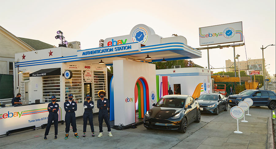 eBay Opens Its First Drive-Thru 'Authentication Station' In LA