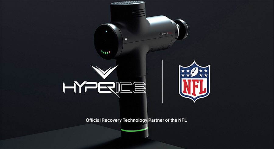 NFL Names Hyperice Official Recovery Technology Partner