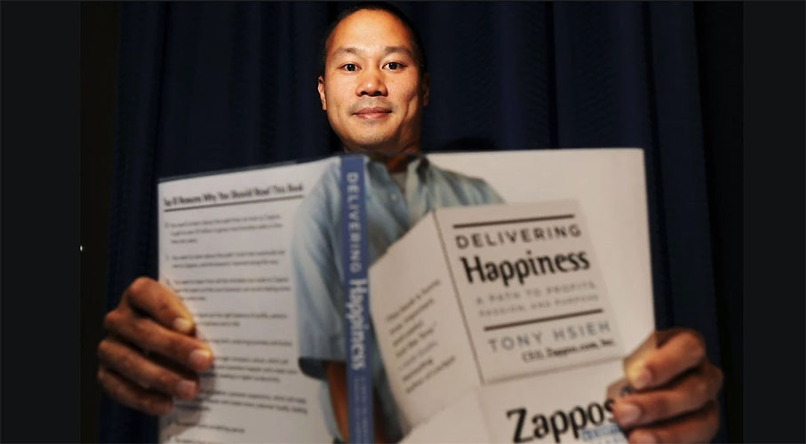 Remembering Zappos' Tony Hsieh