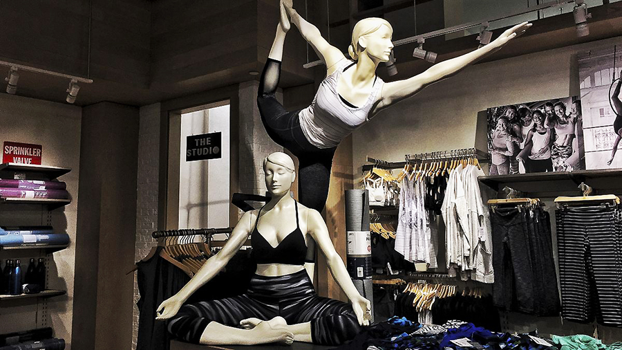 Athleta's Q3 Sales Jump 35 Percent
