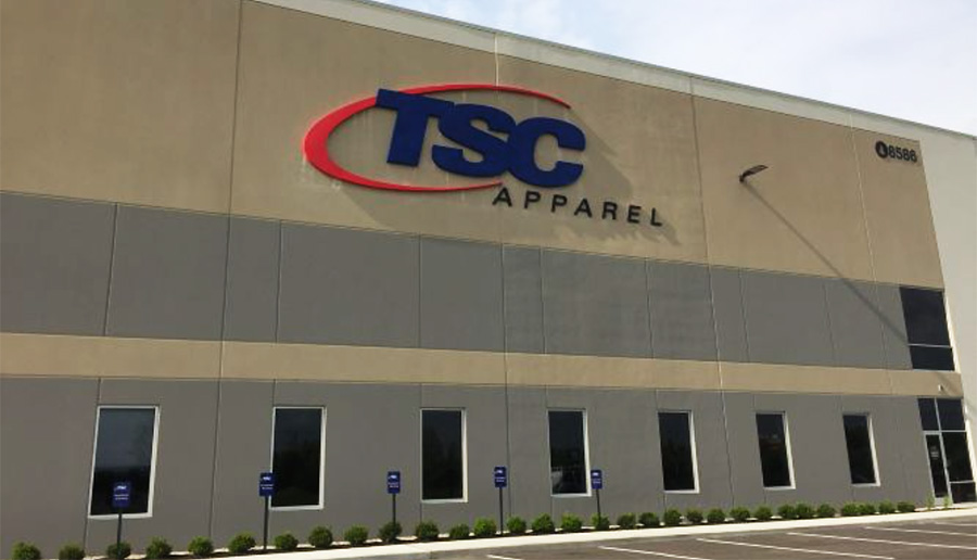 TSC Apparel Expanding To A Larger Distribution Center In Southern CA