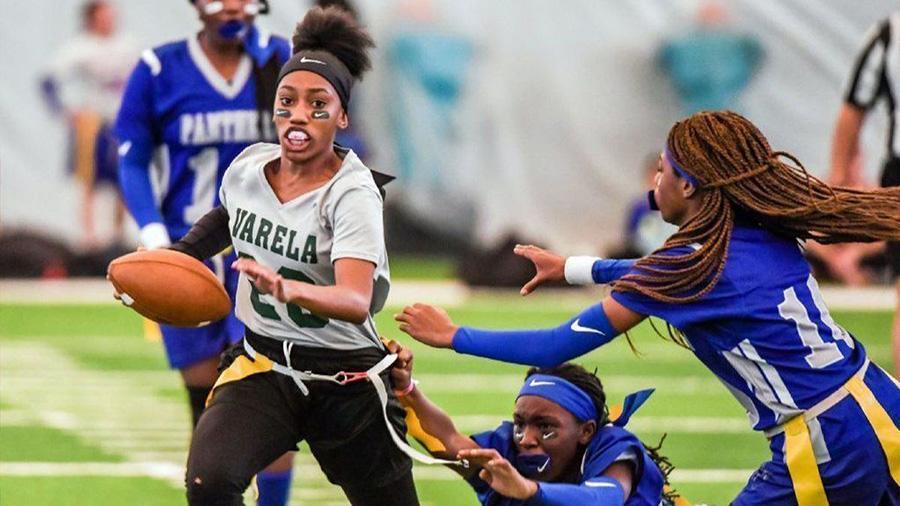 NFL, Nike Announce Girls Flag Football Initiative