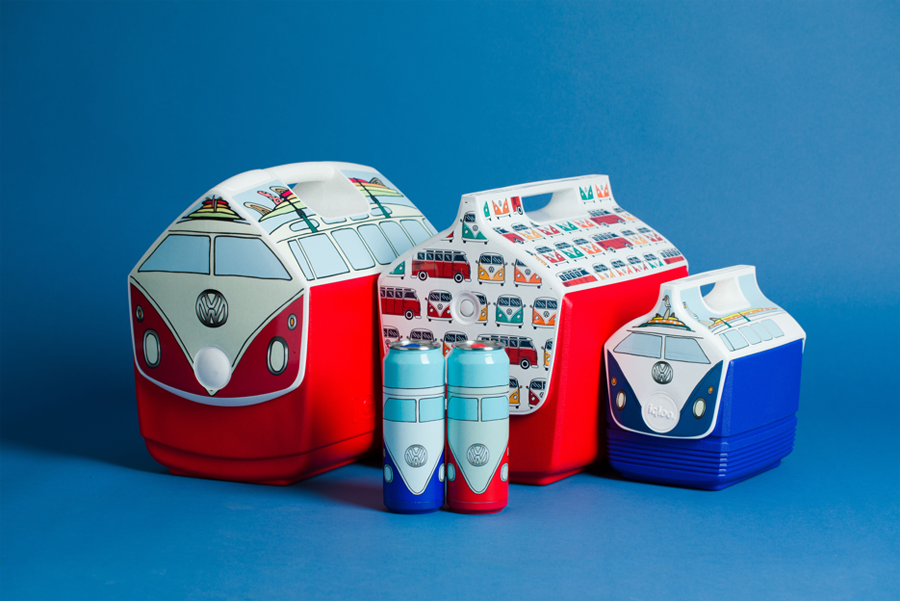 Igloo x Volkswagen Accessories Expand Special-Edition Cooler Collection