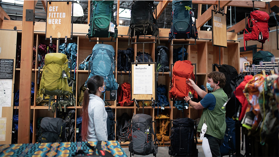 REI Expands Mobile Work Practices