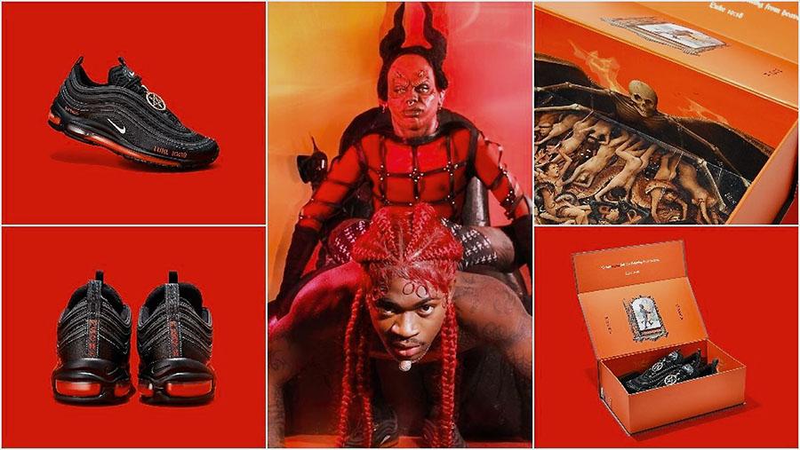 Nike Sues Maker Of Lil Nas X's Satan Shoes