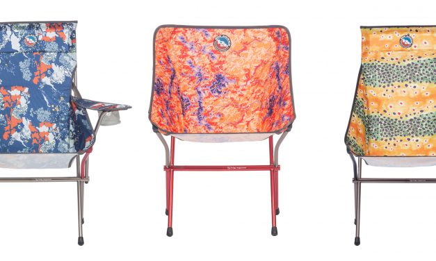 Big Agnes Supports Conservation Organizations With Nature Print Chair Collection