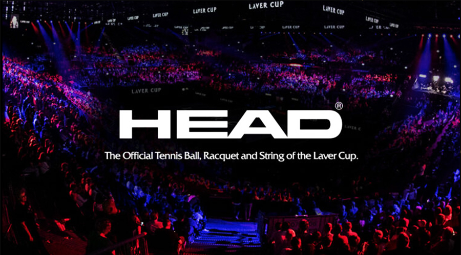 Head Named Official Tennis Ball, Racquet And String Of Laver Cup