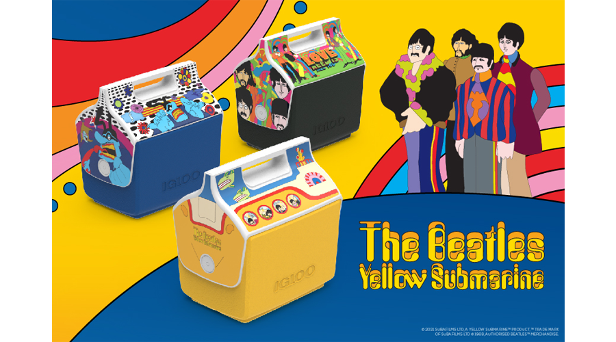 Igloo Launches The Beatles Yellow Submarine Playmate Cooler Collection