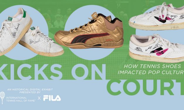 International Tennis Hall Of Fame Launches Online Sneaker Exhibit