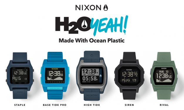 Nixon Releases Technical Watch Collection Using #Tide Upcycled Ocean Plastics