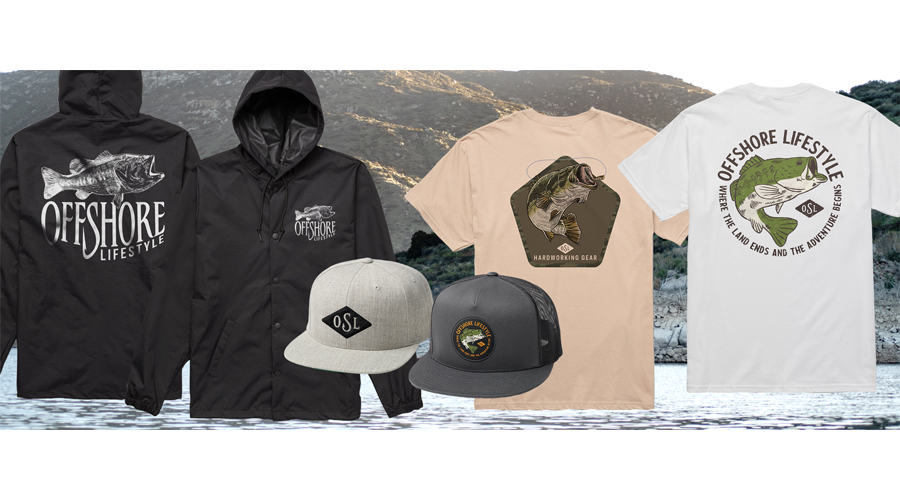 Offshore Lifestyle Drops Bass Apparel Capsule Collection