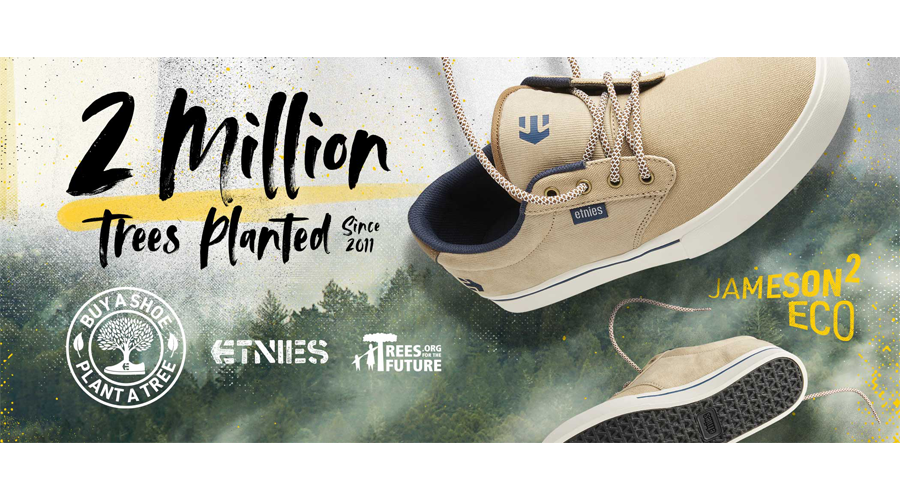 Etnies Expands Buy A Shoe, Plant A Tree Program In Partnership With Trees For The Future