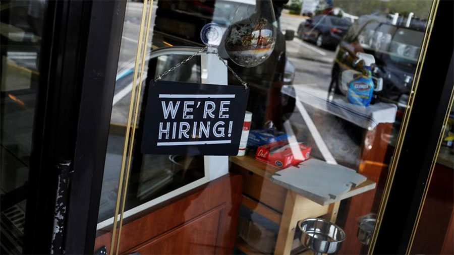 U.S. Economy Added 916,000 Jobs In March
