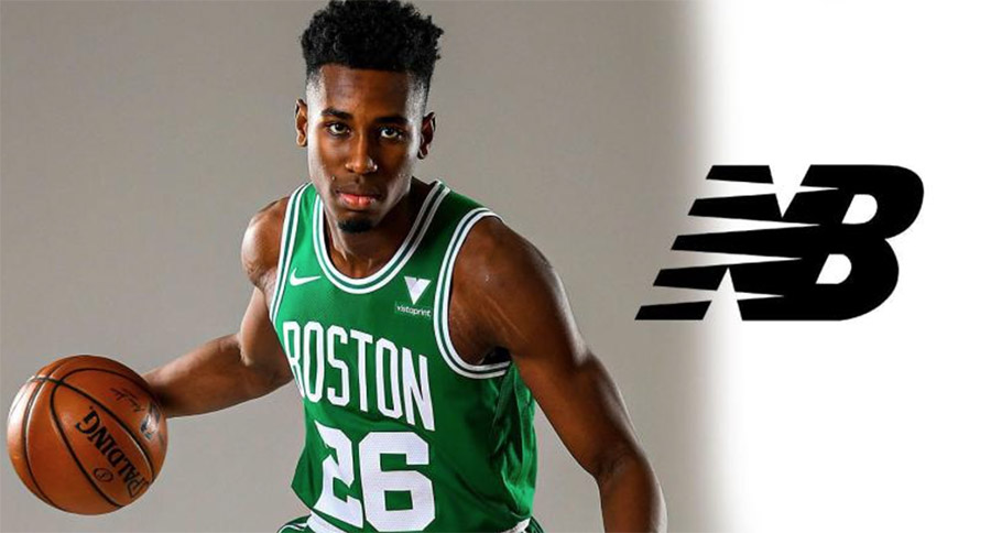 New Balance Signs Boston Celtics Aaron Nesmith
