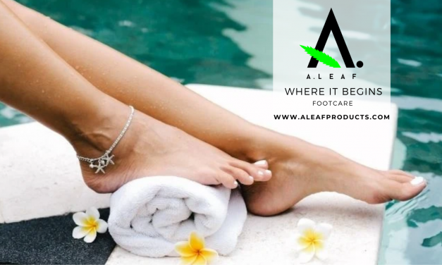 A.Leaf Launches Foot Sands Soak Infused With CBD And Dead Sea Salts