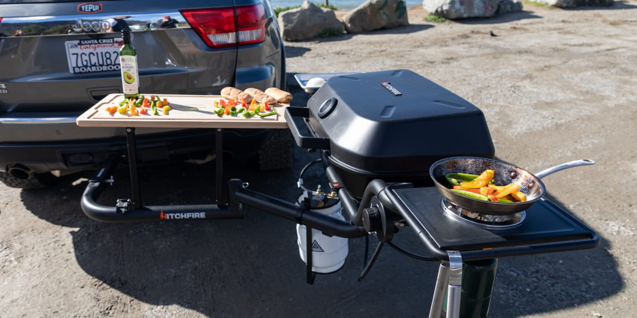 HitchFire Releases Ultimate Grill Station