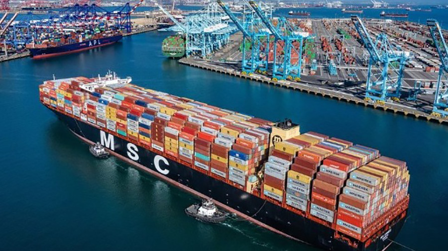 Retail Cargo Imports Set New Record As Economy Recovers