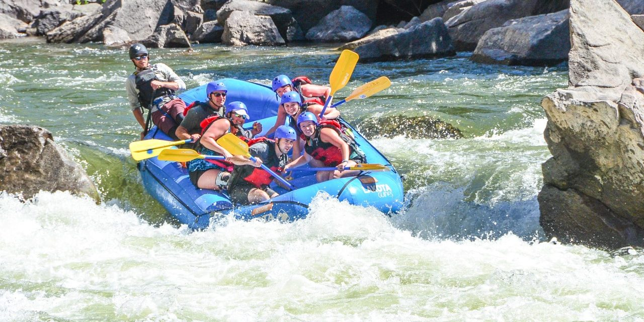 Rafting Season Looking Strong Despite Low Snowpack and Ongoing Pandemic