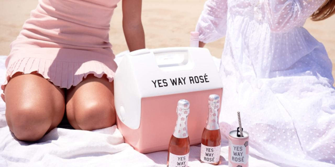 Igloo x Yes Way Rosé Release Pink Playmate Cooler For National Rosé Day