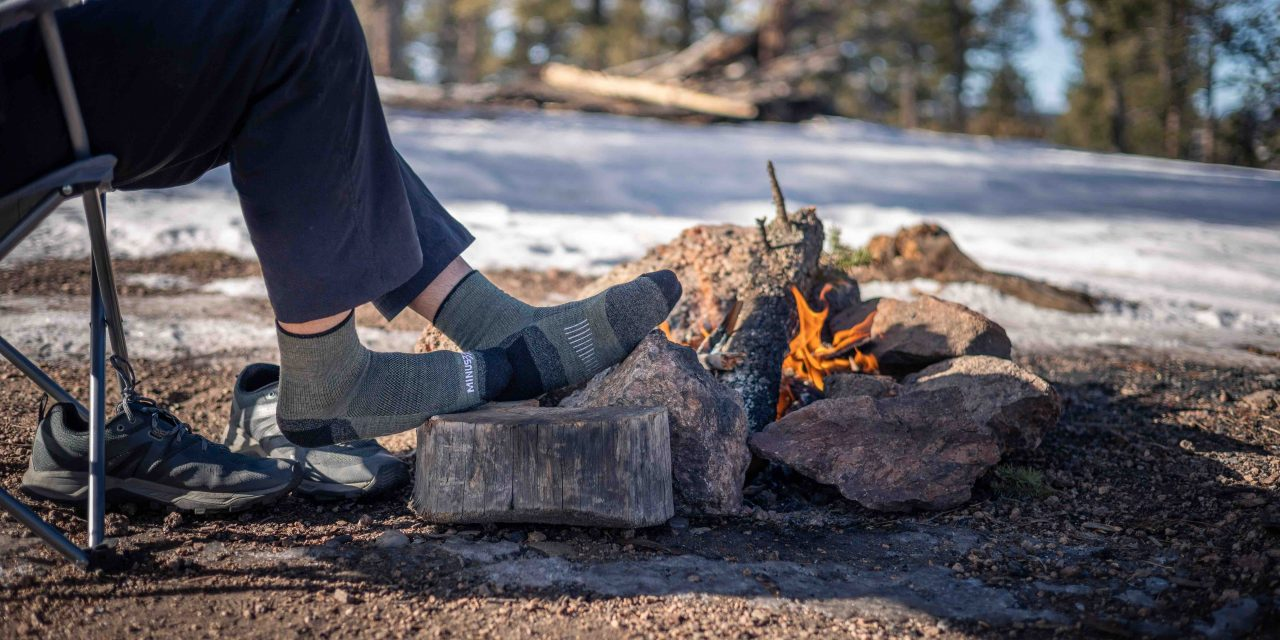 Minus33 Made In The USA Mountain Heritage Hiking Socks