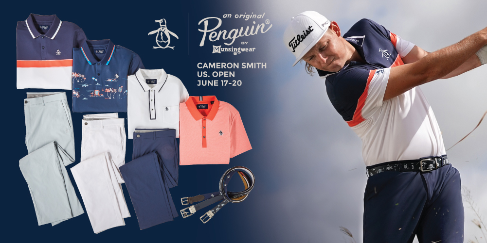 Cameron Smith To Wear Original Penguin's S21 Collection At U.S. Open