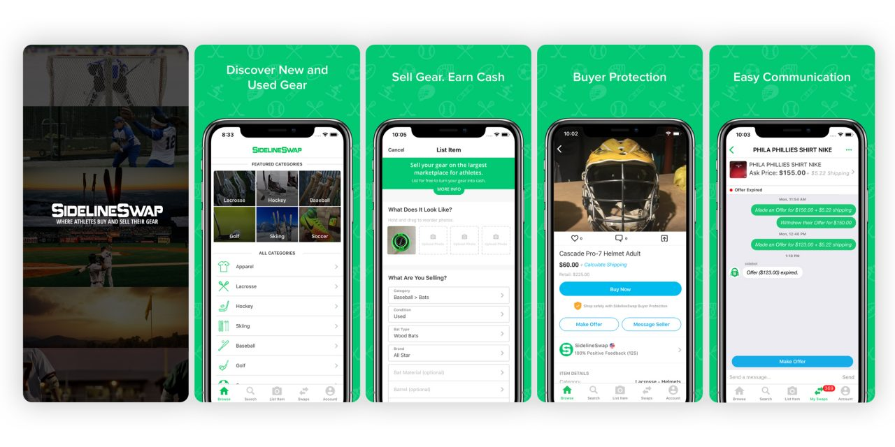 SportsEngine Forms Partnership With Online Sporting Goods Marketplace, SidelineSwap