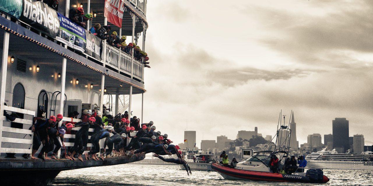 Aquasphere Partners With Escape From Alcatraz Triathlon