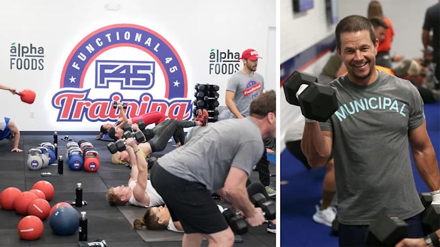 F45 Training Goes Public