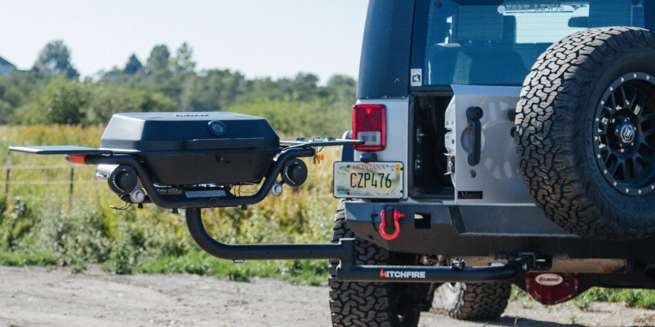 HitchFire Releases Driver-Side Swing Arm For Forge 15