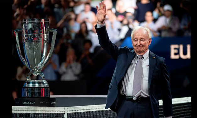 On Signs On As Sponsor Of Laver Cup