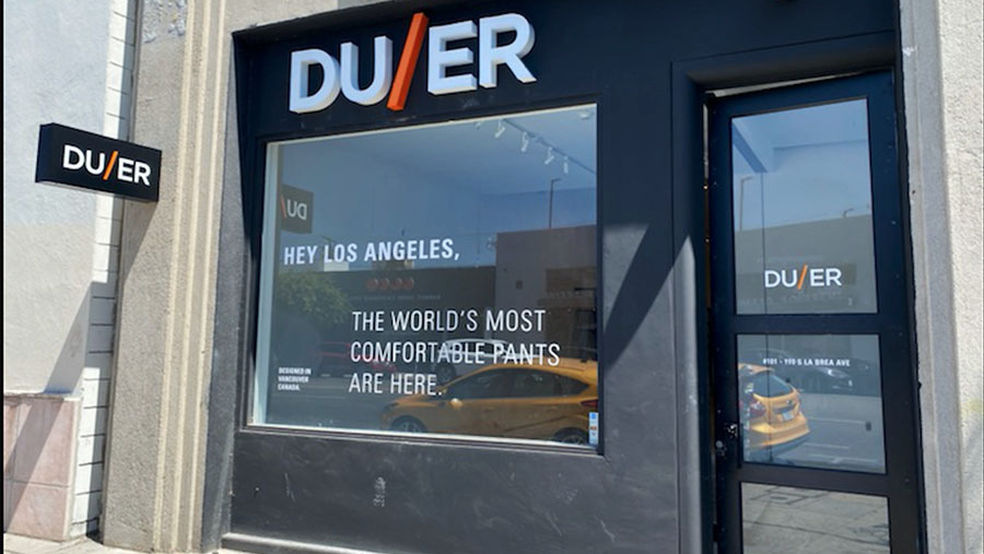 Duer Opens Storefront In Los Angeles