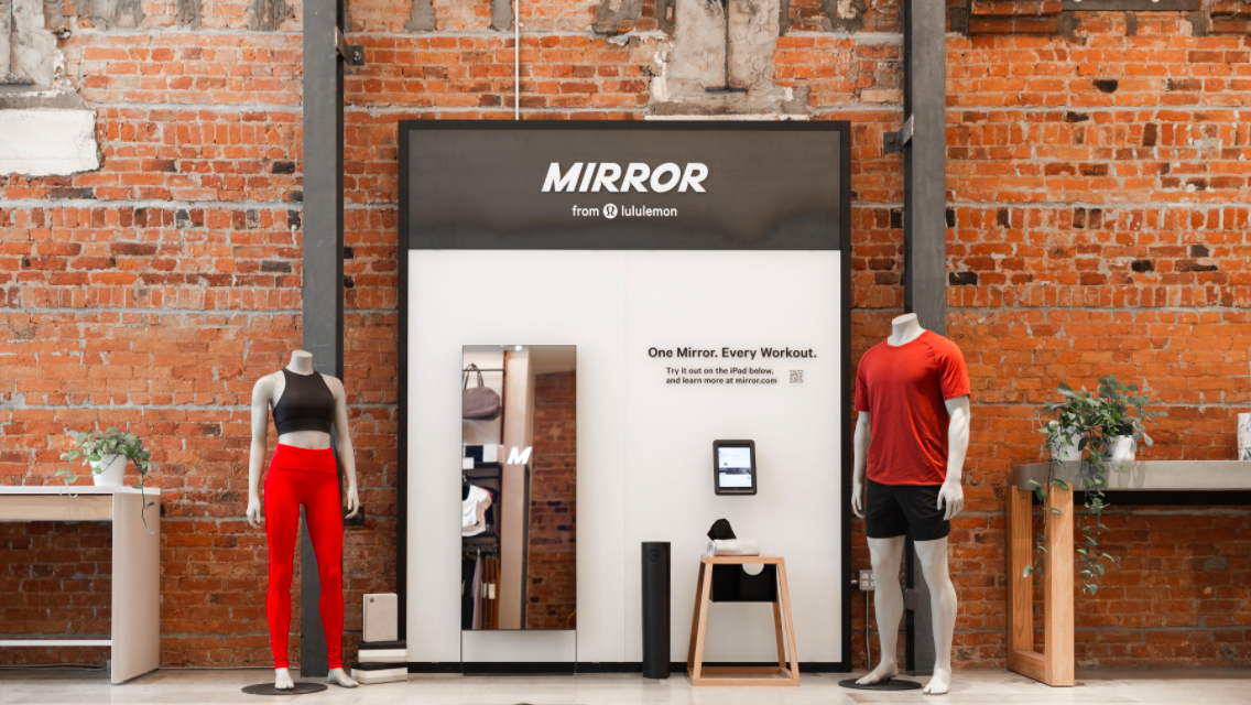Lululemon Expands Mirror To Canada