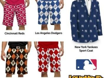 Loudmouth Lands MLB License