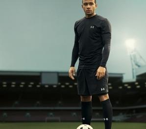 Under Armour Signs Dutch Footballer Memphis Depay