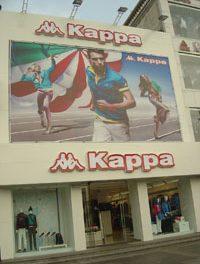 Kappa Stores Comps up Sharply in Mainland China