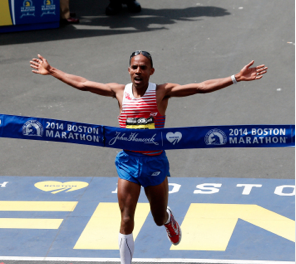 Skechers Endorser Wins Boston Marathon