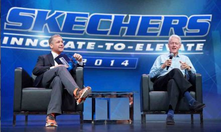 President Bill Clinton Delivers Keynote Address at Skechers Global Conference